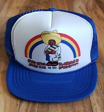 Vintage 80s 90s South of The Border Trucker Braided Snapback Hat Cap