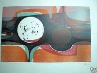 Cesar OLMOS Serigrafía 12/75. 1973. 66,7 X 49,2 Cm.