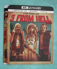 3 FROM HELL, 13 HOURS, 47 RONIN, 300, 1917, 2012, 21 JUMP 4k Blu ray slipcover