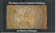 Qe2 Christian Heritage £4 Prestige Booklet Dx5 1984