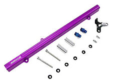 OBX Purple Aluminum Fuel Injection Rail FIT 93-97 Supra 2JZ-GTE JZA80 Non-VVTi
