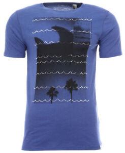 O'Neill FINS OUT TEE Herren T-Shirt Freizeitshirt Strandmotiv blau