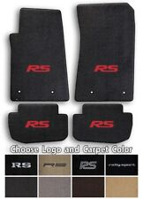 Camaro RS Rally Sport 4pc Classic Loop Carpet Floor Mats-Choice of Color & Logo