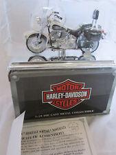 NEW 1993 FLSTN HERITAGE SOFTAIL HARLEY DAVIDSON MAISTO 1:18 DIECAST MOTORCYCLE