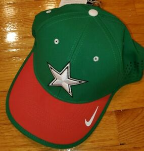 *WOW* NIKE DALLAS COWBOYS Hat mens MEXICO CHRISTMAS football tennis golf running