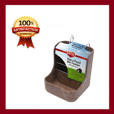 Food Bin Feeder-Ideal for rabbits, chinchillas, guinea pigs &other small animals