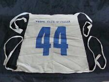 VESPA PETTORINA N°44 VESPA CLUB D'ITALIA GARA SEI GIORNI PER FARO BASSO OLD