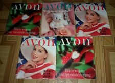 Avon Product Catalogs Brochures Magazines Lot of 5 books 1980s MAKE UP/PERFUME