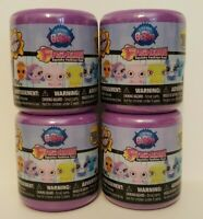 Littliest Pet Shop Fashems Series 3 Lot of 4 Random Capsules, NEW