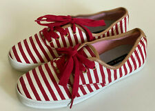 NEW! TOMMY HILFIGER TAHLOR RED WHITE CASUAL SHOES SNEAKERS 7.5 38 SALE