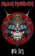 IRON MAIDEN senjutsu samurai eddie TEXTILE POSTER official PREMIUM Fabric FLAG