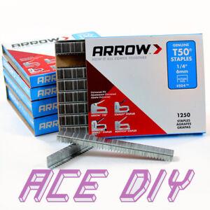 Arrow T50 Staples |  Universal Fit Heavy Duty Staple Clip Tack for Stapler Gun
