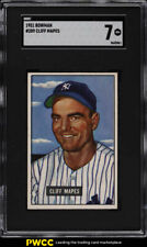1951 Bowman Cliff Maptes #289 SGC 7 NRMT (PWCC)