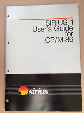 SIRIUS 1 User's Guide for CP/M-86, new, unused