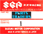 NOS Genuine Suzuki Engine Mount Plate TS90 TC90 TC100 TS100 41591-25000