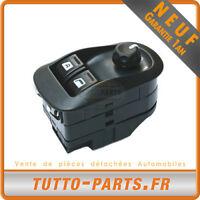 Interrupteur Bouton Lève Vitre + Réglage Rétroviseur Peugeot 206 6552WP PB6552