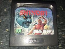 Shinobi Sega Game Gear Cartridge Works
