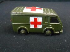 DINKY TOYS - 80F - AMBULANCE MILITAIRE ROUES CONVEXES - MECCANO FRANCE