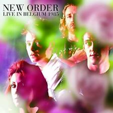 NEW ORDER-LIVE IN BELGIUM 1985 CD From Japan