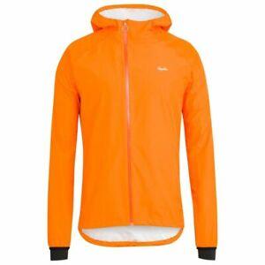 Rapha Commuter Waterproof Cycling Jacket Orange Small
