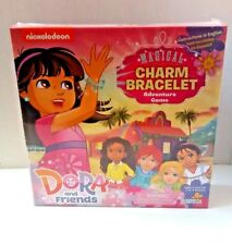 Nickelodeon Dora and Friends Magical Charm Bracelet Adventure Game Ages 4 and Up