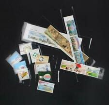 Lots 1400 Pcs Professional Stamp Sleeves Protective Holder Collection 14 Sizes
