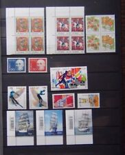 Norway 1963 to 2005 Commemorative issues Ships Olympics Art Wild Berries MNH