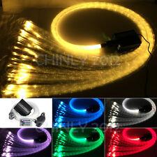 16W Fiber Optic Curtain Light 300pcs Flash Point 9.8ft Waterfall Sensory Lights