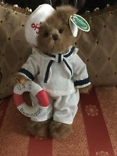 "Bearington Bear ""Gilligan "" Bear 10""~Htf~ W/Tags~Wow~Look!"