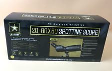 NEW!! US Army 20-60x60 Spotting Scope Military quality optics US-SS206060 #0995