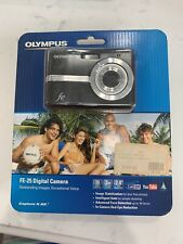 Olympus FE-25 10.0 MP Point & Shoot Digital Camera - Black New Sealed