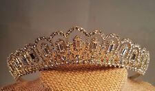 Bridal  Gold Plated Tiara / Sweet 16 Tiara / Wedding tiara