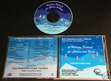 2003 SAN FRANCISCO LYRIC CHORUS A HOLIDAY FESTIVAL & Harp Christmas Music CD