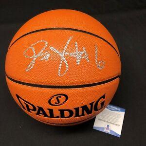 Julius 'Dr. J' Erving Signed Spalding NBA Replica Game Basketball BAS E96777