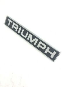627563 - TRIUMPH BADGE OEM NO.86-627563,TRIUMPH 2000, 2500, 2.5PI, TR6, SPITFIRE