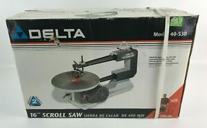 """Delta 16"""" Scroll Saw Model 40-530 Woodworking Machinery - New"""