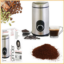 Compact Noise Free Grinder Coffee Bean Spice LLOYTRON Small Kitchen Appliances