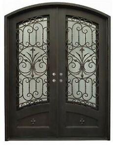 Stunning Wrought Iron Double Door