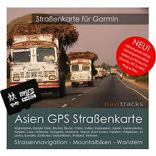 Asien GPS Karte für Garmin - 8GB microSD Navi, PC & Mac. Orginal von navitracks