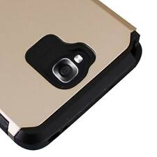 Gold Dual Layer Armor Hard Box Case Protector Cover For LG G Pro Lite D682 D680