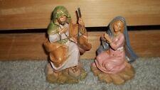 Fontanini by Roman 5� Centennial Collection Nativity Mary & Joseph Italy
