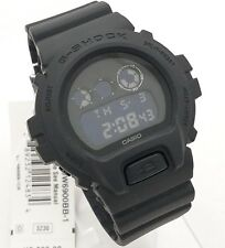 G SHOCK DW6900BB-1 ALL Black DW6900 Negative Display NEW with Box DW6900