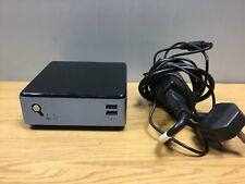 Mini PC NUC Intel Core i3 5th Gen 2.1Ghz 8GB HDMI Dport DUAL RJ45 NIC BARE BLUE