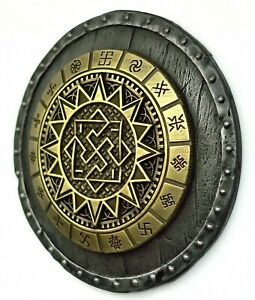 Viking decor Valkyrie pendant metal wall art  Wall hanging norse pagan art gift