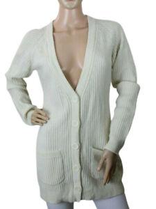Anti Flirt Paris Women's Sweater Long Cardigan Size T3 (US size 8)