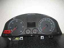TACHIMETRO Strumento Combinato VW Golf 5 1k0920851px bj10 1.9 Diesel Cluster Cabina Di Pilotaggio e181