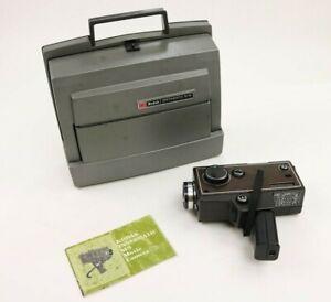 Vintage Kodak Instamatic M 95 Movie Projector & M 9 Film Camera Super 8mm As Is