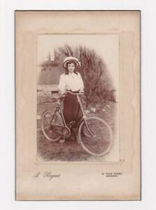 Edwardian Lady, RALEIGH LADY'S BICYCLE Photograph Bryant, Aberdare_Unusual Brake