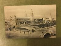 Antique Postcard - Court of Arts, Franco-British Exhibition - Used - 1908