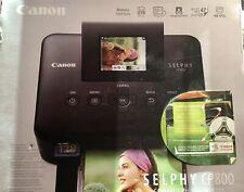 Canon SELPHY CP800 Fotodrucker Selphydrucker Postkarten 6,2 cm  Lcd Display